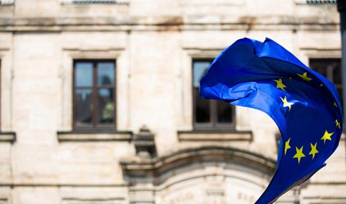 Sventola la bandiera dell'Europa