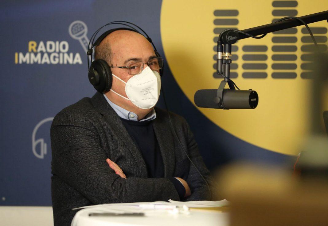 Nicola Zingaretti a Radio Immagina